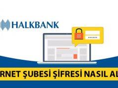 Halkbank İnternet Şubesi Şifre İşlemleri