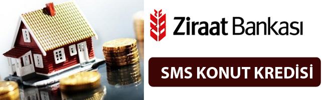Ziraat Bankası Sms İle Konut Kredisi
