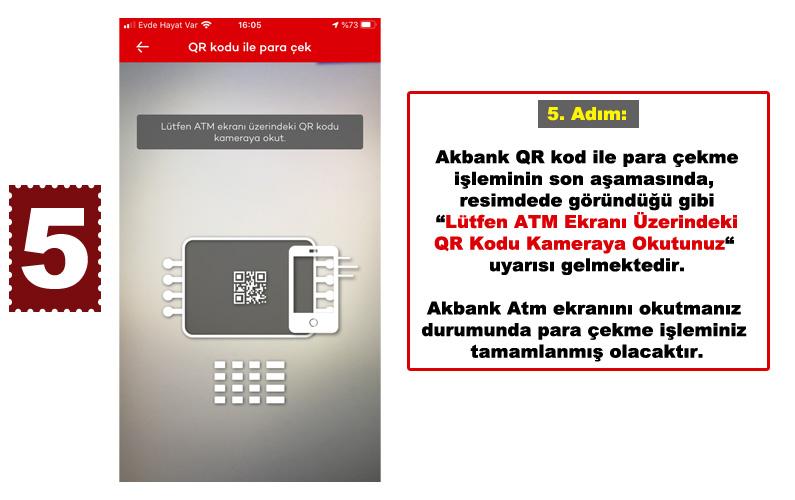 Akbank Qr Kod kullanımı